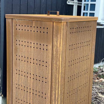 Rottesikret kompostbeholder 50x50x100